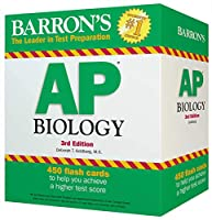Barron's AP Biology Flash Cards, 3rd Edition