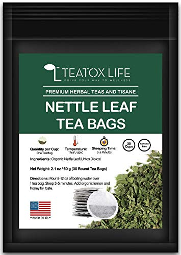 Nettle Leaf Herbal Tea with Stinging Nettle| Supports Fertility and Women Health| Made in USA - 30 Threadless Tea - Herbal Tea Fertility