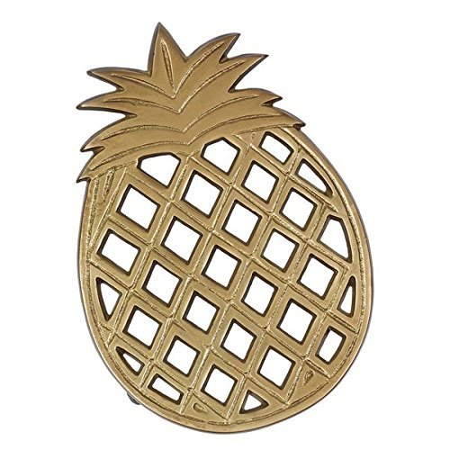 DII Gold Pineapple Trivet by Design Imports