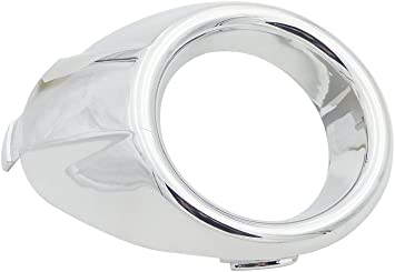 Front Fog Light Lamp Chrome Ring Cover Trim 1 Pair Left And Right Side 57731SC000 Fit For Subaru Forester 2009-2013