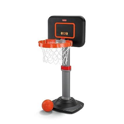 Amazon.com: Fisher-Price crecer a Pro baloncesto Junior Set ...