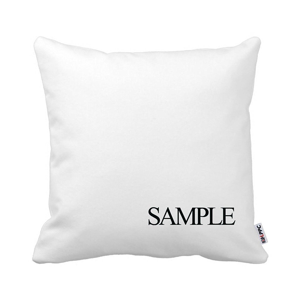 Chantelletion Chic Elegant White and Rose Gold Marble Pattern Throw Pillow Cushion Case Square 18
