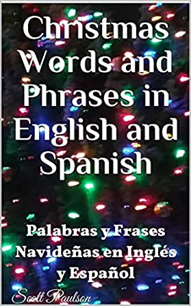 Amazoncom Christmas Words And Phrases In English And