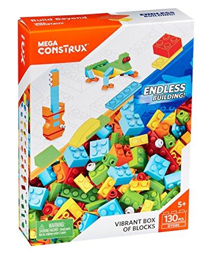 (Mega Vibrant Box Of Medium Blocks, Multi Color)