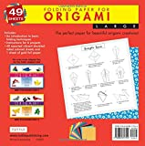 "Folding Paper for Origami - Large 8 1/4"" - 49"