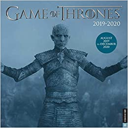 Game of Thrones 2019-2020 17-Month Wall Calendar: HBO ...