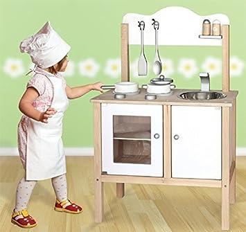 Unbekannt Combi Kuche Spielkuche Kinderkuche Mit Zubehor Holz 54