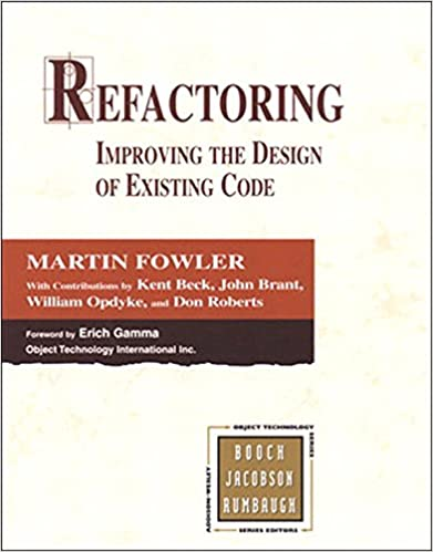Amazon refactoring improving the design of existing code amazon refactoring improving the design of existing code addison wesley object technology series ebook martin fowler kent beck john brant fandeluxe Images