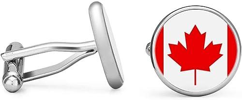 Canada Canadian Flag Cufflinks