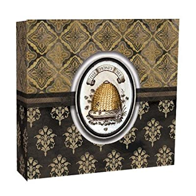 Lang 1033081 Honey & Grey Recipe Card Album by Lori Siebert, Assorted: Kitchen & Dining