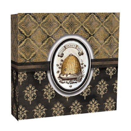 Lang 1033081 Honey & Grey Recipe Card Album by Lori Siebert, Assorted