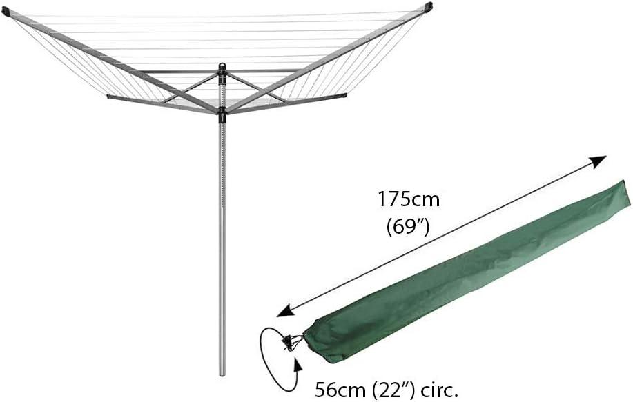 Kingfisher universel séchoir rotatif Lavage Clothes Line Séchoir Housse Imperméable