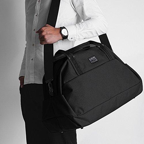 LUXUR Travel Duffel Bag Waterproof Weekender Luggage for Hiking Business Gym (50L) by LUXUR (Image #1)