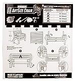 2x4basics 90134ONLMI Custom AnySize Chair or Bench