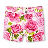 The Children's Place Baby Girls Fashion Shorts, Simplywht 8737, 12-18MOS