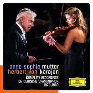 Mutter - Karajan: Complete Recordings on Deutsche Grammophon (1978-1988)