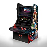 "My Arcade Mini Arcade 10"" Retro Arcade Machine with 34 Data East Hits: Bad Dudes, BurgerTime, B-Wings, Karate Champ, and Many More"