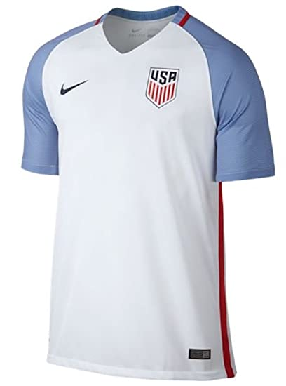 006f9d044 Nike Kids United States Home Stadium Soccer Jersey (Youth X-Large) White