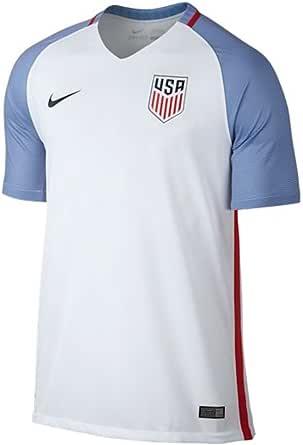 NIKE Selección de Fútbol de los Estados Unidos 2015/2016 - Camiseta Oficial, Talla S: Amazon.es: Zapatos y complementos