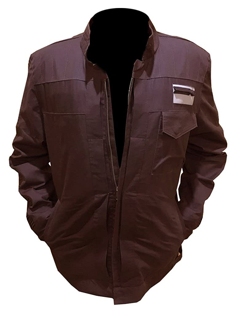 3ab147bcdc5b ABz Leathers Star Wars Rogue One Captain Cassian Andor Brown Jacket ...