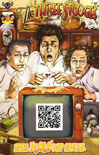 Three Stooges April Fools Day Talking Cover ()
