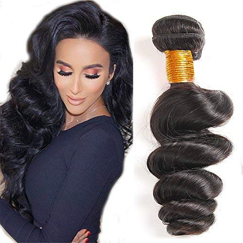 Mink 8A Peruvian Virgin Hair Loose Wave Bundles 18