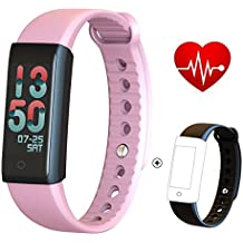 greatall Fitness Tracker/Smart Bracelet with Color Screen,Smart Wristband Waterproof Pedometer Activity Tracker with Sleep Monitor, Heart Rate Monitor, Blood Pressure/Oxygen Monitor