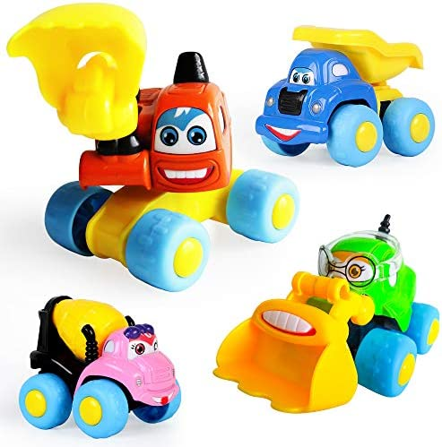 ToyerBee Construction Assorted Vehicles Toddlers product image