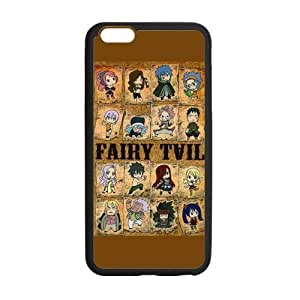 Customize TPU Gel Skin Case Cover for iphone 6+, Anime iphone 6 plus Cover (5.5 inch), Fairy Tail hjbrhga1544
