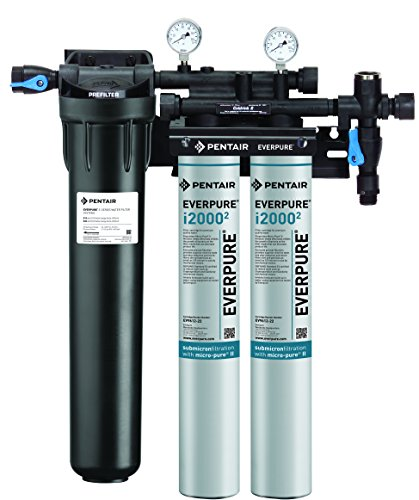 Twin Water Filter System (Everpure EV9324-22 Insurice Twin PF i2000 2 System)