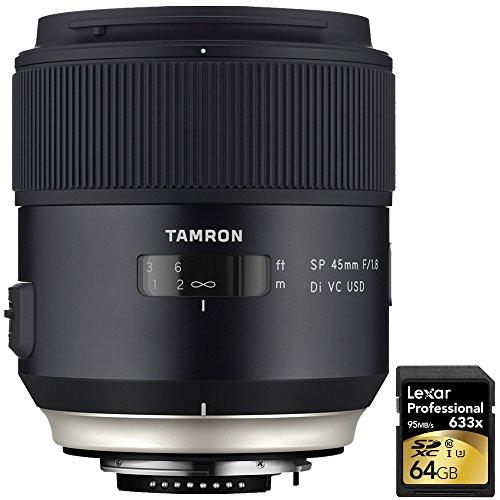 Tamron SP 45mm f/1.8 Di VC USD Lens