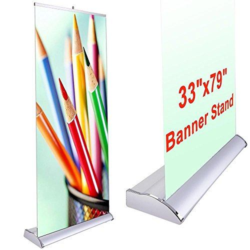 Stand/base for 33'' X 79'' Picture/banner by GC Global Direct