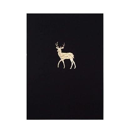 Amazon.com : Cute Metallic Gilding Deer Bird Horse Schedule ...