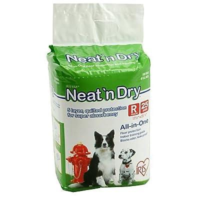"""Neat 'n Dry Premium Pet Training Pads, Regular, 17.5"""" x 23.5"""" by IRIS USA"""