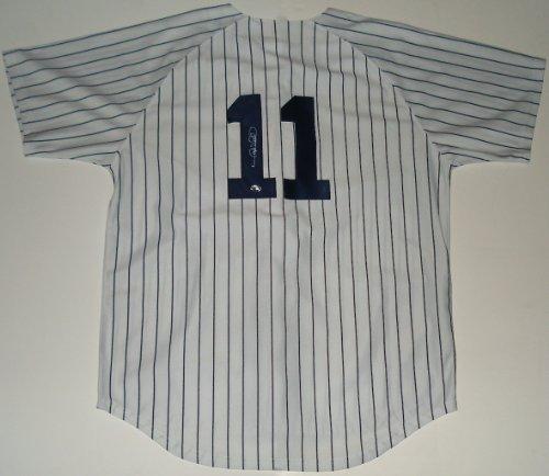 Gary Jersey Sheffield Autographed (Gary Sheffield Autographed Jersey (Yankees))