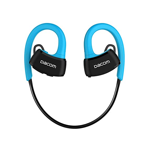 536bdb3c35f Image Unavailable. Image not available for. Color: Dacom IPX7 Waterproof  Wireless Bluetooth Headset 4.1 Bluetooth Headphone P10 Running Swimming ...