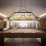 Wellmet Vintage 3-Light Pool Table Light Pendant