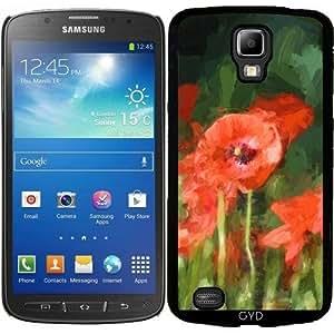 Funda para Samsung Galaxy S4 Active i9295 - Monet Dijo: Amapolas 1 by UtArt