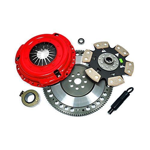 EFORTISSIMO STAGE 4 CLUTCH KIT+RACE FLYWHEEL fits NISSAN SILVIA S13 S14 2.0L SR20DET