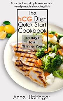 HCG Diet Quick Start Cookbook ebook product image