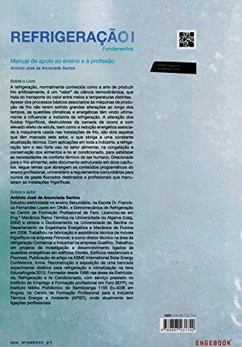 Refrigeração. Manual de Apoio ao Ensino e à Profissão. Fundamentos - Volume I: António José da Anunciada Santos: 9789897231742: Amazon.com: Books