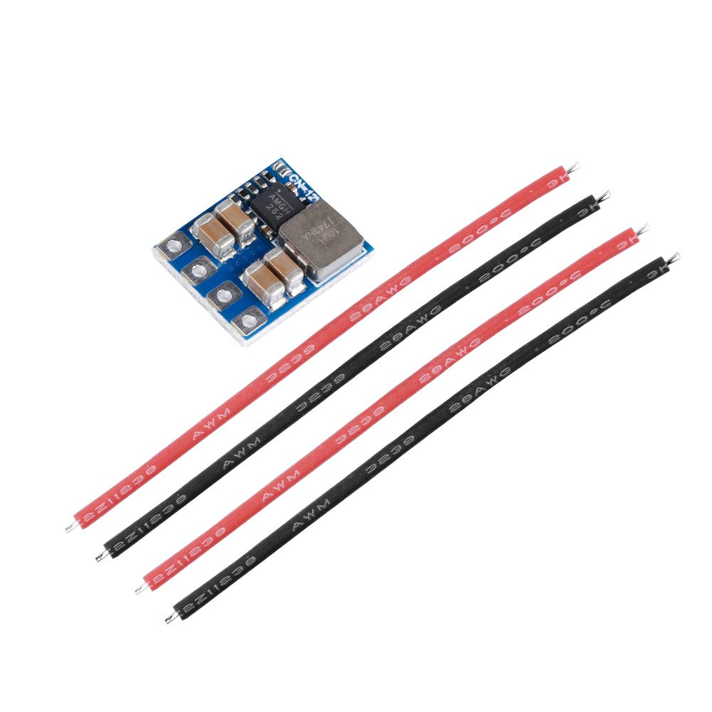 iFlight 3-6S Micro 5V BEC 14.5 x 6.6MM Voltage Regulator Module with LC Filter 2A Output Low Ripple for FPV Racing Drone Quadcopter 2pcs
