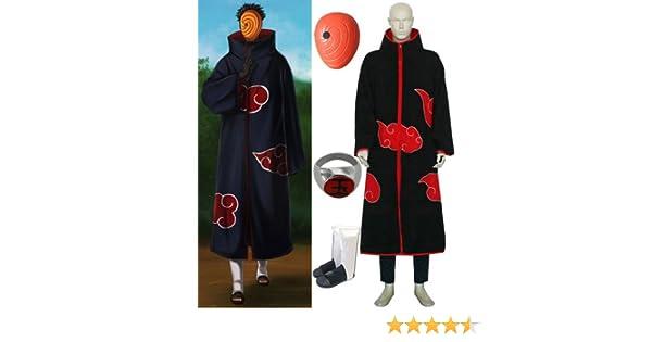 Amazon.com: Naruto Itachi Tobi Hood cosplay costume and ...