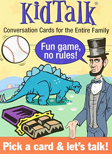Kid Talk: Conversation Cards for the Entire Family (Tabletalk Conversation Cards) - Kid Talk Conversation Cards Game