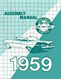1959 Chevy Car Assembly Manual Biscayne Bel Air Impala El Camino Nomad Chevrolet 59 (with Decal)