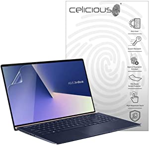 Celicious Matte Anti-Glare Screen Protector Film Compatible with Asus Zenbook 15 UX533FD [Pack of 2]