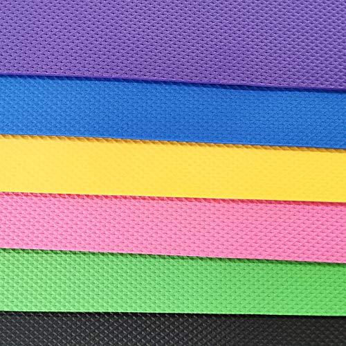 UNSKAM Fitnessmatte Yogamatte Pilatesmatte Gymnastikmatte Preumium Yogamatte rutschfest Yogamatte Gymnastikmatte Übungsmatte Sportmatte für Yoga Pilates Fitness (Rosa, 183x60x0.4 cm)