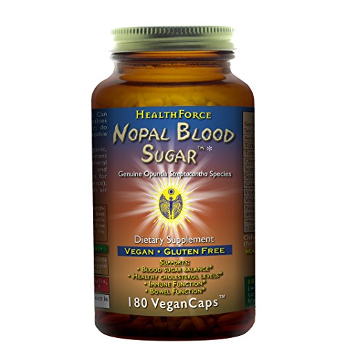 2 best nopal blood sugar by health force for 2020