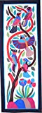 Egyptian Tentmaker Applique Wall-Hanging khayamiya handmade Size 150 x 55 cm colorful Birds Iotas pharaoh hand-stitched cotton home decorative Art & Collectibles Quilting PATCHWORK Egyptian cotton