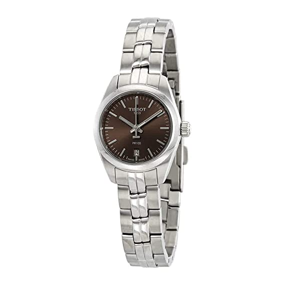 Tissot PR100 SMALL T101.010.11.061.00 Reloj de Pulsera para mujeres: Amazon.es: Relojes